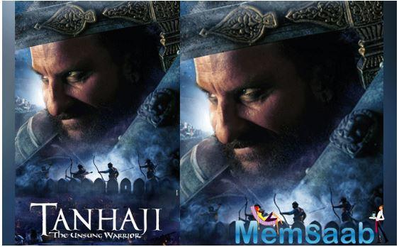 Ajay Devgn has aced the look of a fierce warrior in the upcoming film 'Tanhaji: The Unsung Warrior' whose new poster was unveiled by his wife Kajol on Tuesday.