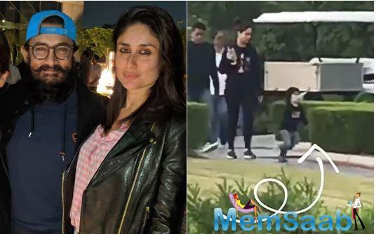 Earlier, we saw Kareena with Taimur at the Mumbai Airport as they were jetting off to Delhi to meet Saif who was shooting there for his upcoming film, Tandav.