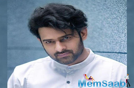 On the work front Prabhas was last seen in the film Saaho and will be next seen under the direction of 'Jil' fame Radha Krishna Kumar.