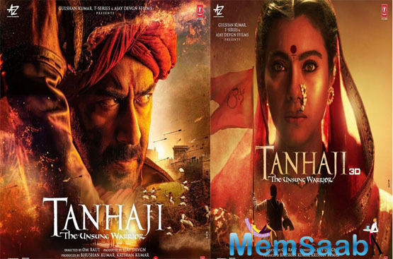 Tanhaji is set in the 17th century, directed by Om Raut, it is based on the life of Tanaji Malusare, unsung warrior of glorious Indian history and the military leader in the army of Chhatrapati Shivaji Maharaj, founder of the Maratha Empire.