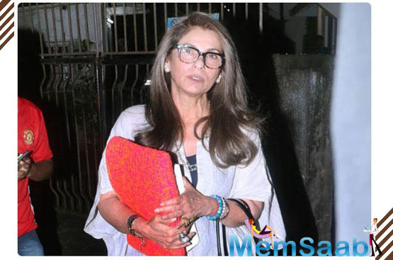 Health rumours about Dimple surfaced on the Internet after the mother-daughter duo were spotted outside a hospital.
