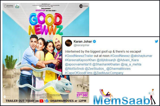 Another thing to notice amongst the posters is Akshay and Kareena's confused expressions which have also left the audience confused about what the goof-up is exactly. Diljit and Kiara are all smiles and beautiful.