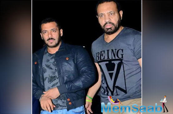 Salman Khan exactly knows how make his near and dear ones feel special. Over a period of time, few of his friends have become his family and one of them is his bodyguard Shera.