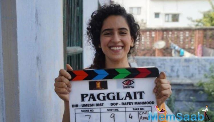 """""""We are glad to bring a concept as quirky as Pagglait on screen with Sanya Malhotra leading the film."""