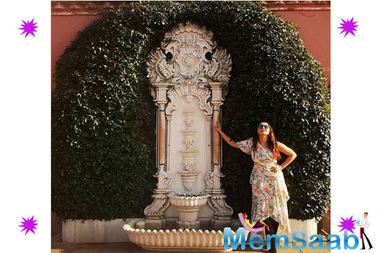 From the exotic Titanic Mardan Palace, Minissha took us to the quiet lanes of Istanbul.