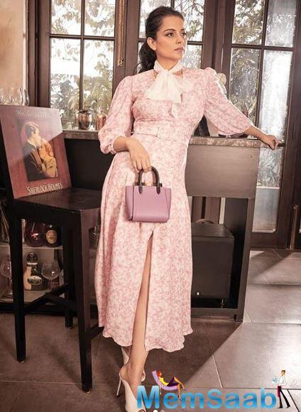 Kangana Ranaut recently announced her first venture as a producer. The film titled 'Aparajitha Ayodhya' which is based on Ram-Mandir court case making headlines.