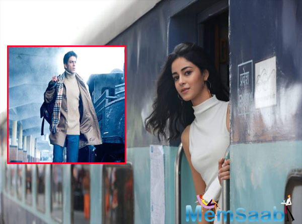Going by the trailer, it seems like Ananya's entry in the film is by stepping out of a train. Ananya has been receiving a lot of appreciation for her look in the film.