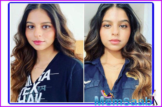 Shah Rukh Khan and Gauri Khan's daughter Suhana Khan is one of the most popular star kids in Bollywood. Even though she is away from her home, she still makes headlines now and then for her stunning photos.