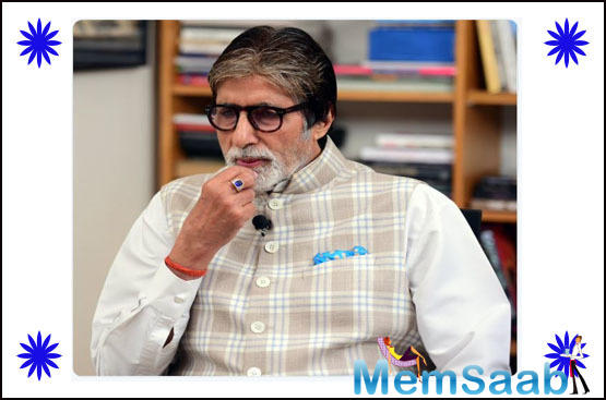 Big B too shared his experience as he witnessed the simplicity of the small town and hospitality of the locals.