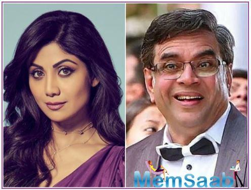 Priyadarshan went on to disclose some details about Shilpa's role and added that she will play a glamourous character who is paired opposite Paresh Rawal.