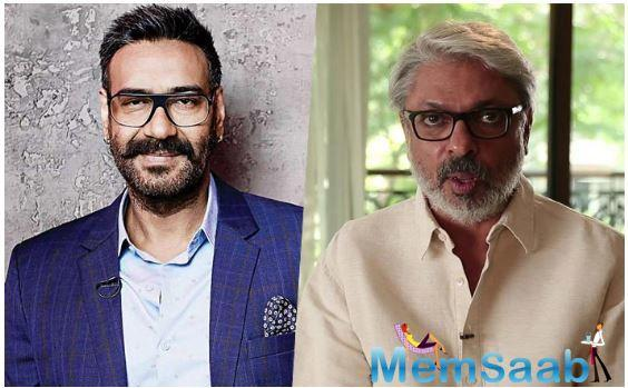 Ajay is teaming up with Sanjay Leela Bhansali after two decades but there are two films in the pipeline- Alia Bhatt starrer Gangubai Kathiawadi and Baiju Bawra.