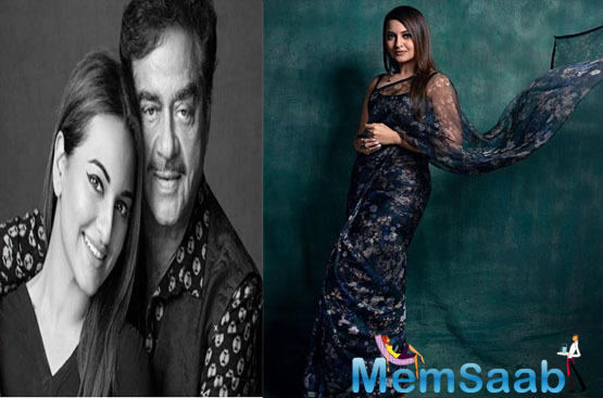 While Sonakshi, in these ten years has worked with all big stars in Bollywood, all she now desires is to team up with her father Shatrughan Sinha.