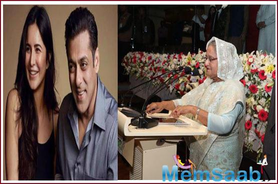 Bollywood actors Salman Khan along and Katrina Kaif felt honoured as he met