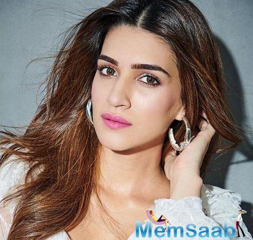 Kriti Sanon, who is currently busy shooting for Mimi, expresses excitement about the film.