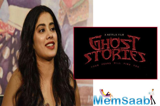 In the Zoya Akhtar segment of Ghost Stories, Janhvi features alongside Vijay Varma and Raghubir Yadav. The quartet that directs Ghost Stories has collaborated twice before -- on Bombay Talkies (2013) and Lust Stories (2018).