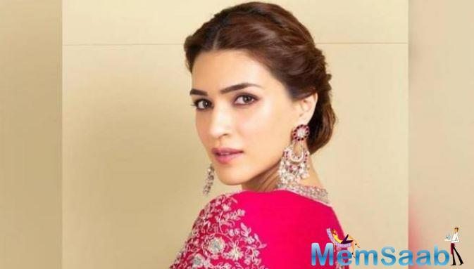 Kriti Sanon, who is currently busy shooting for
