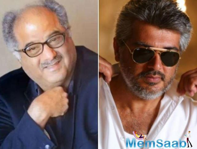 Producer Boney Kapoor has confirmed actor Ajith Kumar will play a police officer in his second Tamil production venture,
