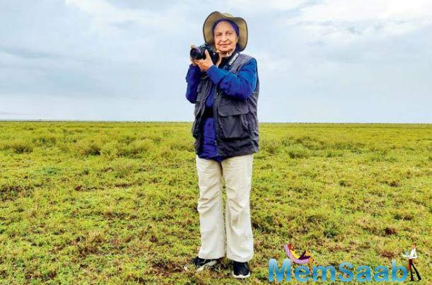 The yesteryear actor has turned a wildlife photographer as she recently held an exhibition of her pictures from her safaris to Kenya, Tanzania, and wildlife reserves across India.
