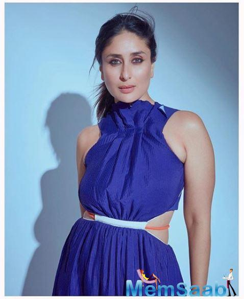 Pointing out that her husband is going through an interesting phase, Kareena gushes that it's wonderful to have come so far, then, change things around by being the first to have done a digital show.