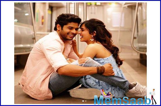 The film also features stars 'Mard Ko Dard Nahi Hota' fame Abhimanyu Dassani and newbie Shirley Setia in lead roles.