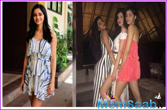 On her friend Suhana's debut, Ananya said to Times Now that Suhana is such a brilliant actor.