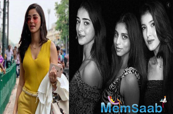 The trio has shared a great rapport with each other. In an interview, Ananya Panday said, her besties are always with here, no matter what'.