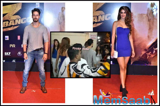 Today, they attended the special screening of Salman Khan's 'Dabangg 3'.