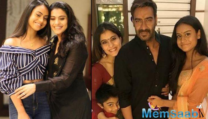 Giving an example of how Ajay Devgn is protective of his daughter, Kajol said,