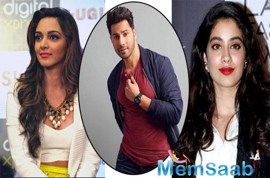 According to the buzz, Janhvi has reportedly replaced Kiara Advani in Shashank Khaitan's next, which is said to be titled Mr. Lele, co-starring Varun Dhawan and Bhumi Pednekar.