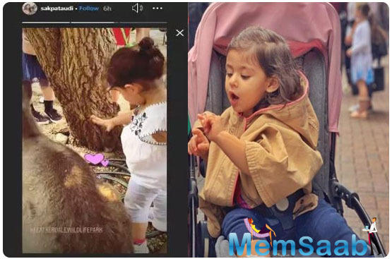 Just like him, even Inaaya breaks the internet with her cute antics and adorable looks. Be it her airport pictures to attending big brother Taimur's birthday, Innaya surely grabs the attention.