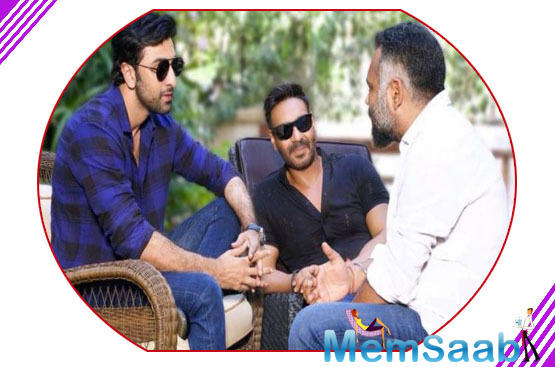 Now, we have learnt that Luv's action-thriller with Ajay and RK is still on.