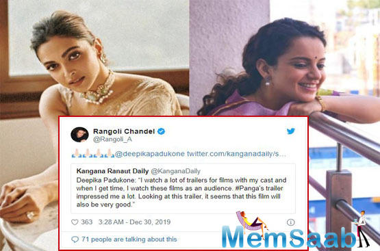After delivering two back-to-back author backed performances in Manikarnika: The Queen of Jhansi and Judgementall Hai Kya, Kangana Ranaut is once again proving her acting mettle in Panga that is slated to release on January 24, 2020.