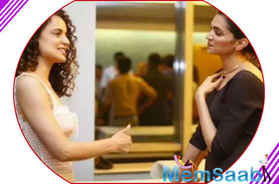 Deepika recently watched the trailer and heaped praises for the film. She said that Kangana's film will definitely win hearts and the actress will come up tops as well.
