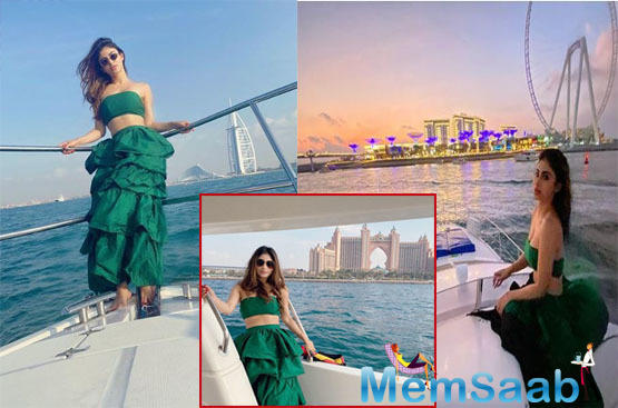The actress has been sharing pictures from her vacay and her fans just cannot get enough of the gorgeous Diva.
