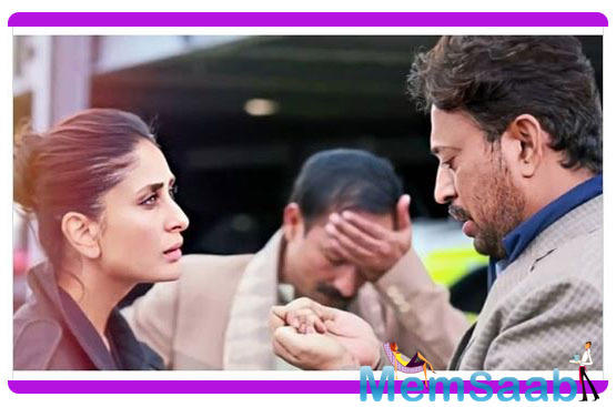 Giving a glimpse of both the actors the makers have shared the first look of the film. It is a sequel to 'Hindi Medium' which featured Irrfan and Saba.