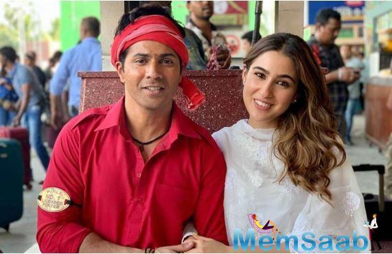 A few weeks earlier when the shoot of the comedy flick had begun, the duo had shared the first poster of the movie on their respective social media handles which created an immense buzz among the movie-goers.