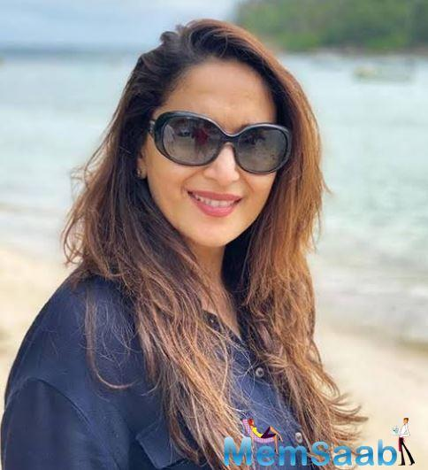 But we hear that the project is delayed as one of the film's two female leads, Madhuri Dixit, has opted out.