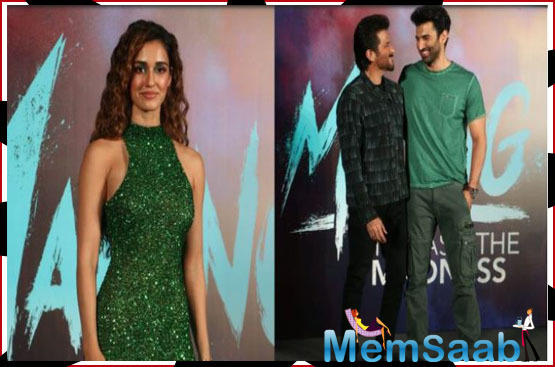 Anil was caught off guard when asked if Aditya and Disha's kiss made him wish if he could do something similar in a film.