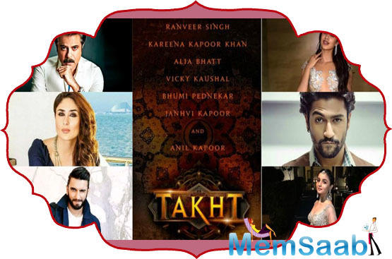 The Much-awaited period-saga, 'Takht', will go on the floors in March. Karan is currently on a recce in Jaisalmer. As per the plan, the film will go on the floors in March.
