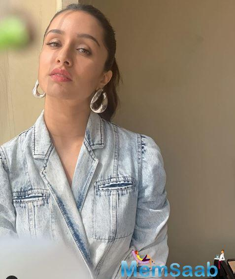 Shraddha shared a glimpse of the appetizing spread with her fans on her social media through a story. Shraddha Kapoor enjoys a fan following all across.