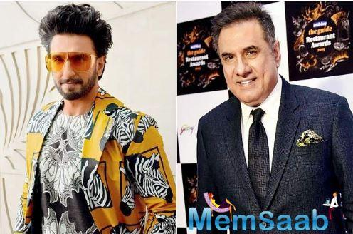 Only months after he wrapped up the shoot of '83, Boman Irani will be joining Ranveer Singh on a movie set again.