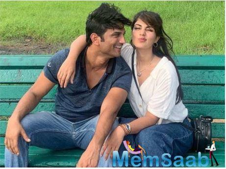 Today, on the occasion of Sushant Singh Rajput's birthday, ladylove Rhea took to her Twitter handle to share an adorable picture of them together along with a lovely birthday wish.