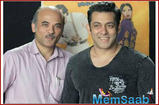Asked if his son's film will feature Salman in any capacity, the director said Avnish has the star's blessings.