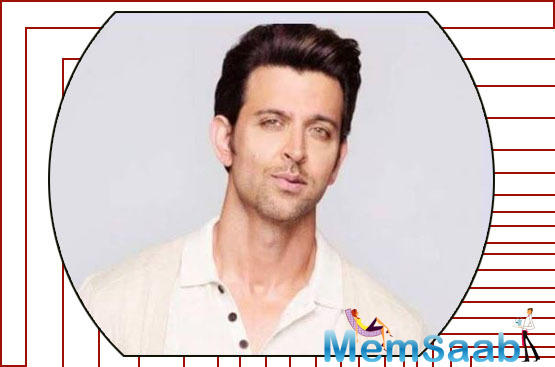 On the workfront, Hrithik was last seen in Yash Raj Films' War co-starring Tiger Shroff and Vaani Kapoor.