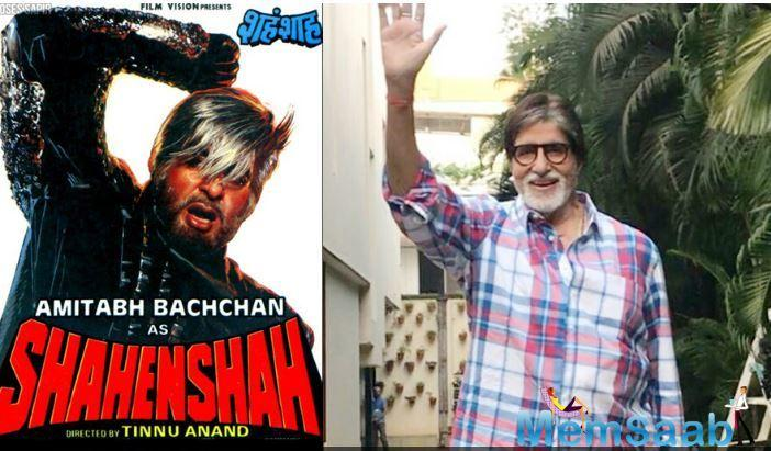 Now we hear that a Shahenshah remake is also in the works.
