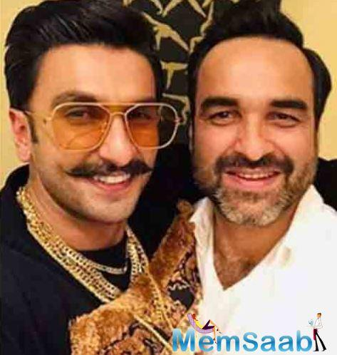 Ranveer was all praise for Pankaj's character and called him The Chief.