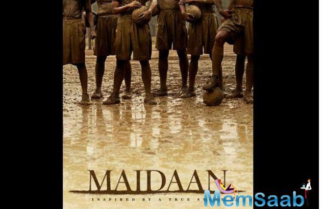 Maidaan is directed by Amit Sharma, who also directed the hit film Badhaai Ho, and is being produced by Boney Kapoor. It also stars south star Priya Mani and will have a simultaneous release in Hindi, Tamil, Telugu and Malayalam.
