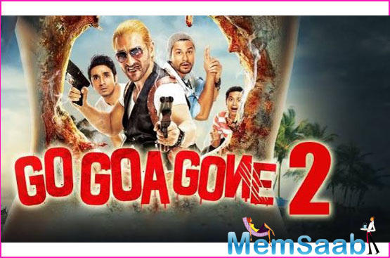 Go Goa Gone revolved around a group of three friends who visit an isolated island for a rave party.
