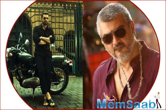 The original featured Ajith as the protagonist, Ganesh, a gangster turned-taxi driver and a doting brother to Lakshmi Menon's Thamizh.