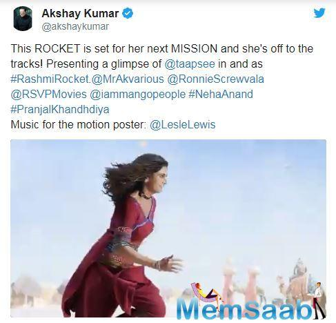 Aparshakti Khurana clarifies that he hasn't signed Rashmi Rocket, starring Taapsee Pannu, yet, but he is in talks with makers of the film.